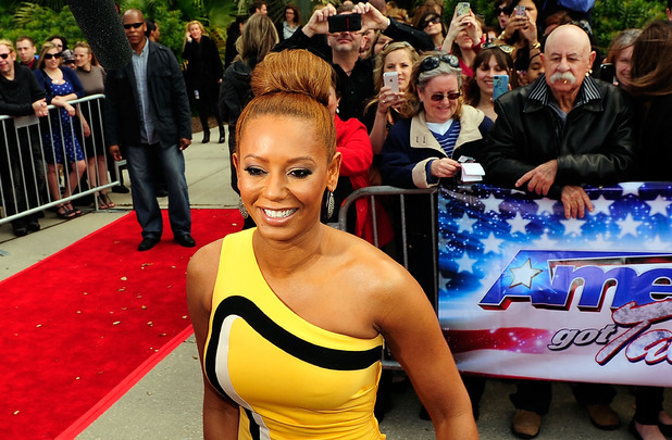 Mel B attends the 'America's Got Talent' New Orleans auditions as a judge at UNO Lakefront Arena on March 4, 2013 in New Orleans, Louisiana.