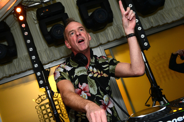 Fatboy Slim plays the House of Commons for Last Night A DJ Saved My Life Foundation in London