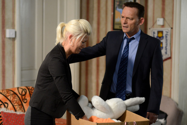 EastEnders, Lola is upset after court, Tue 5 Mar