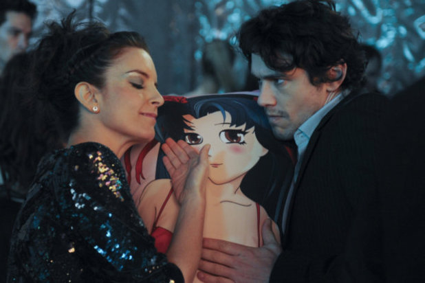 James Franco and Tina Fey in '30 Rock'