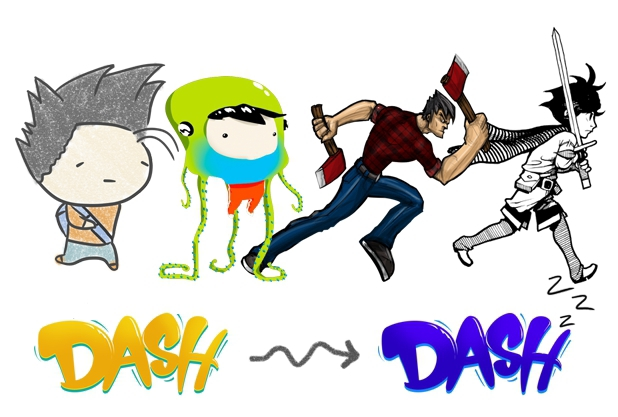 Robotoki's 'The Adventures of Dash' announcement