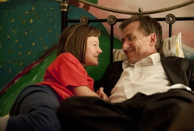 Eloise Laurence and Tim Roth in 'Broken' (2013)