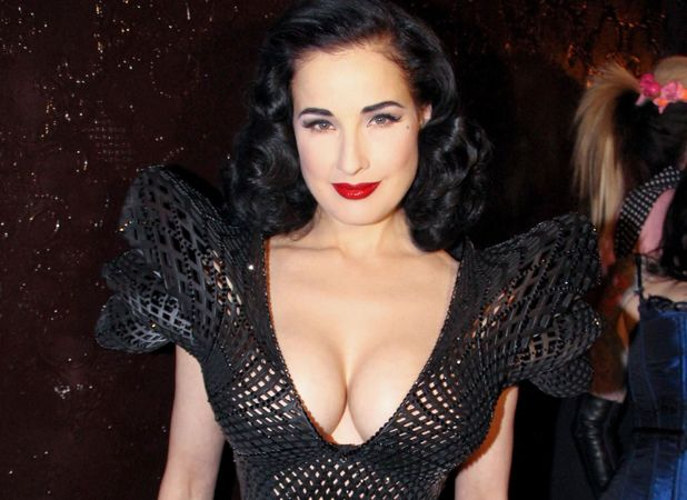 Dita von Teese, design debut by Michael Schmidt