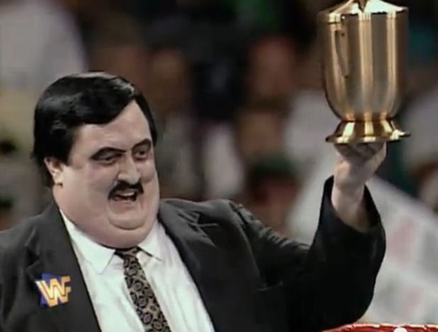 Paul Bearer in the WWE