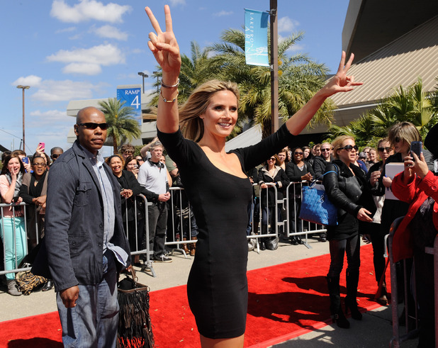Heidi Klum attends the &#39;America&#39;s Got Talent&#39; New Orleans auditions as a judge at UNO Lakefront Arena on March 4, 2013 in New Orleans, Louisiana.