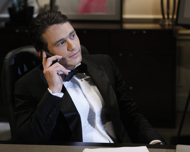 James Franco in ABC's 'General Hospital'