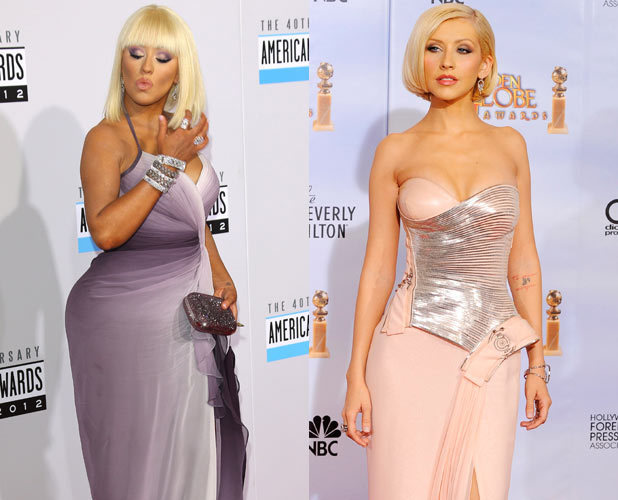 Christina Aguilera, weight, before, after