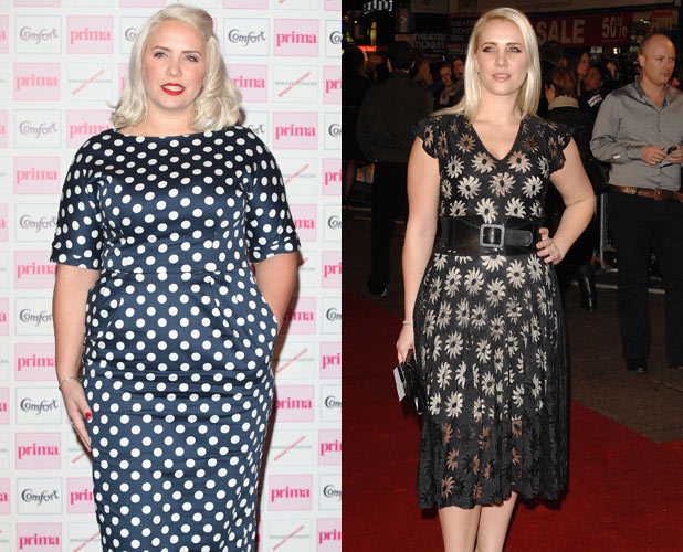 Claire Richards, weight gain, before, after