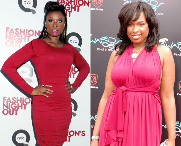Jennifer Hudson, weight loss, before and after