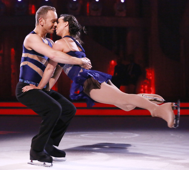 Beth and Daniel dance their bolero.