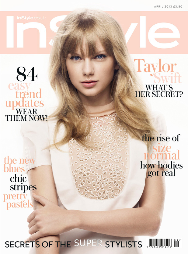 Taylor Swift poses for InStyle photo shoot