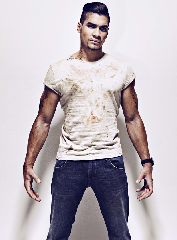 Louis Smith photo shoot for Men's Health magazine