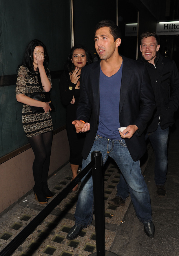 Gavin Henson, Whisky Mist, Girls Aloud Ten tour party