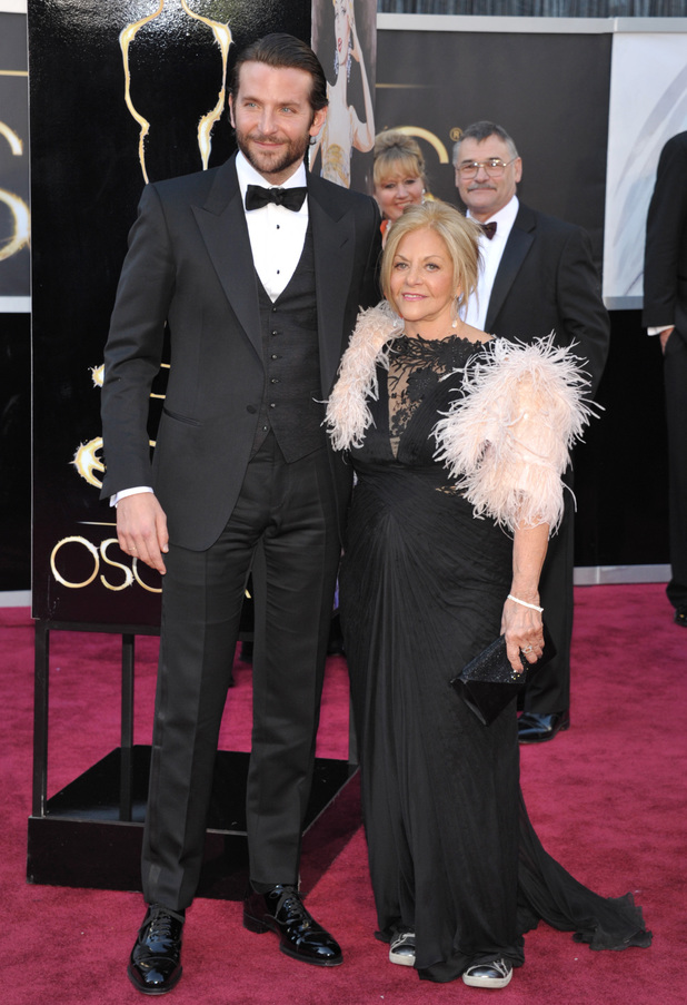 Bradley Cooper and mother Gloria