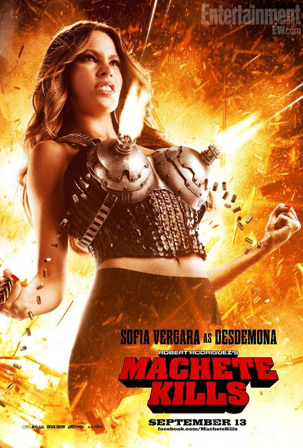 Sofia Vergara, Machete Kills poster