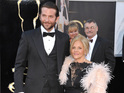 Bradley Cooper's bedroom is located next door to his mother's after dad died.