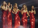 The girl group film their headline show at London's O2 Arena over the weekend.