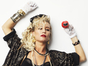 West End actress imitates popstar's look in Desperately Seeking Susan.