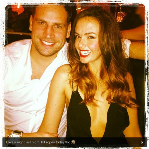 Hollyoaks actress Jennifer Metcalfe and former Geordie Shore star Greg Lake