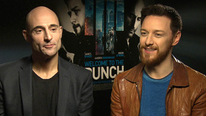 James McAvoy and Mark Strong chat 'Welcome To The Punch'
