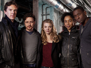Benedict Cumberbatch, James McAvoy, Natalie Dormer, Sophie Okonedo and David Harewood in Neil Gaiman's BBC Radio 4 'Neverwhere'