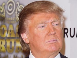 Donald Trump, fake tan