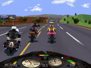 &#39;Road Rash&#39; screenshot