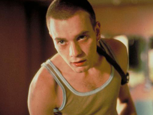 Ewan McGregor as Mark Renton in &#39;Trainspotting&#39; (1996)