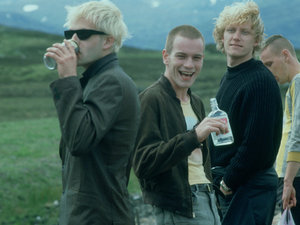 The main cast of 'Trainspotting' (1996)