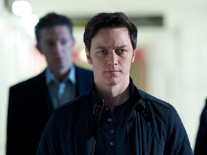 James McAvoy as Simon Newton in Danny Boyle's Trance