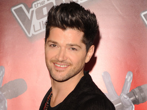 Coach Danny O'Donoghue at the launch of latest series for the BBC talent show, The Voice, at the Soho Hotel in London.
