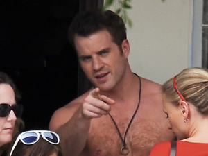 Rob Kazinsky, True Blood, Gay Spy, shirtless