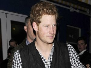 Prince Harry leaves the Rum Kitchen restaurant and bar in Notting Hill.