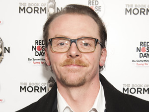Simon Pegg, Red Nose Day, Book of Mormon