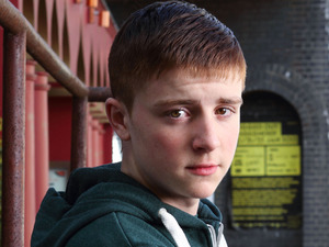 James Forde as Liam Butcher in EastEnders