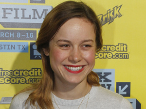 Brie Larson arrives at a screening of 'Don Jon's Addiction' at the SXSW conference in Austin, Texas
