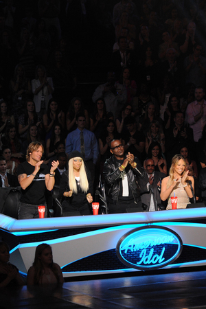 'American Idol' Top 10 performances - Judges Nicki Minaj, Mariah Carey, Keith Urban and Randy Jackson