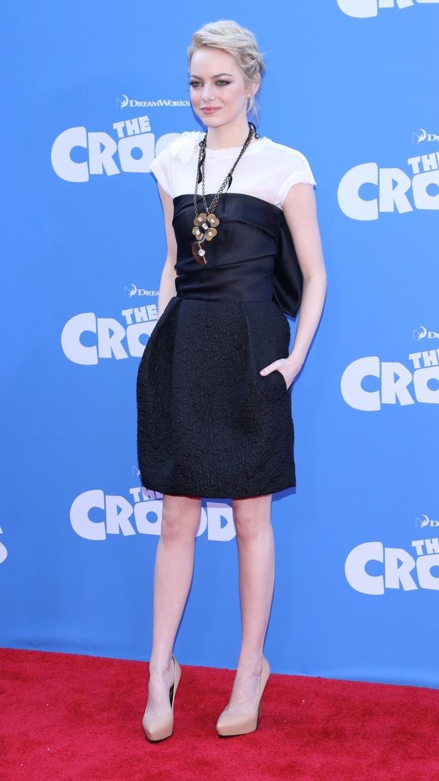 Emma Stone, The Croods, LA