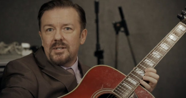 Ricky Gervais as The Office's 'David Brent'