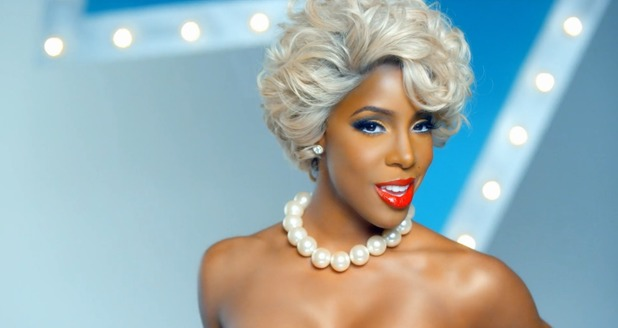 Kelly Rowland in 'Kisses Down Low' video
