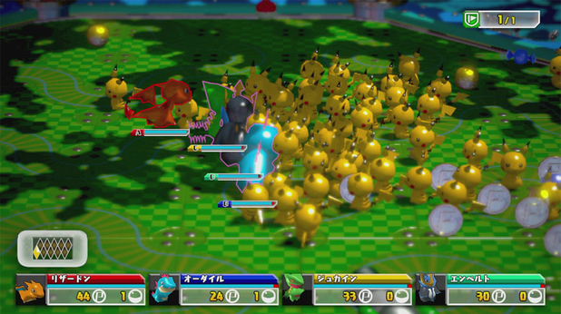 'Pokemon Rumble U' screenshot