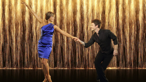 Dancing with the Stars: season 16 - Dorothy Hamill and Tristan MacManus