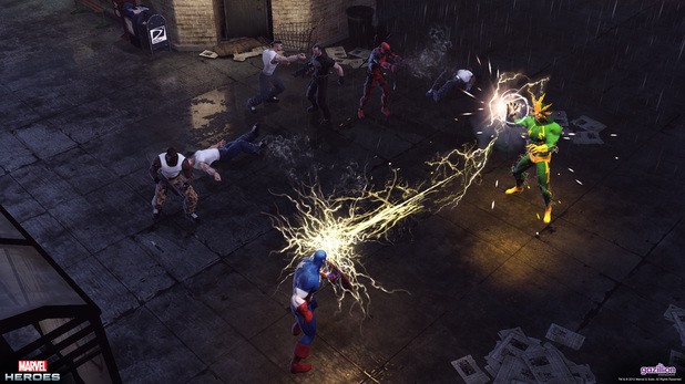 Gaming Review: Marvel Heroes