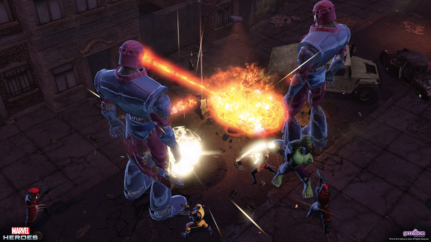 Marvel Heroes: Immersion Day screenshot