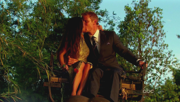 Sean and Catherine on 'The Bachelor' season finale