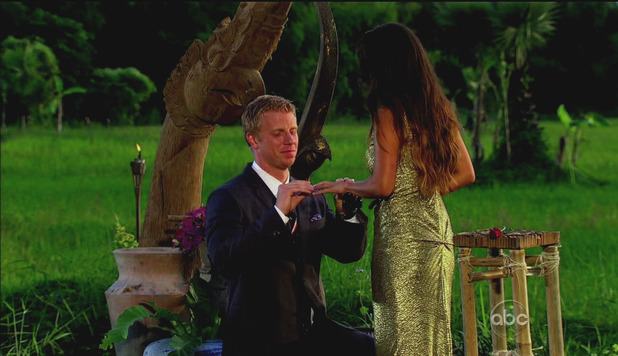 Sean proposes to Catherine on &#39;The Bachelor&#39; season finale