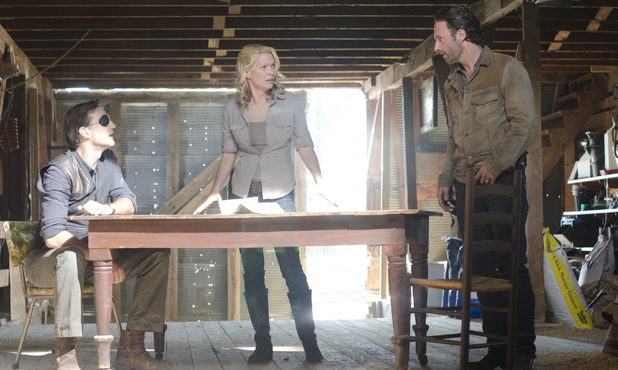 The Walking Dead S03E13: &#39;Arrow on the Doorpost&#39;