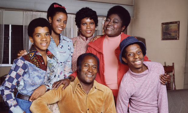 Portrait of the cast of 'Good Times'