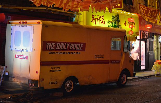 The Daily Bugle Van
