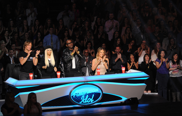 &#39;American Idol&#39; Top 10 performances - Judges Nicki Minaj, Mariah Carey, Keith Urban and Randy Jackson